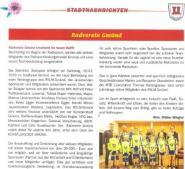 Bericht Stadtnachrichten Gmünd
